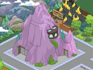 The Simpsons Tapped Out Volcano Lair