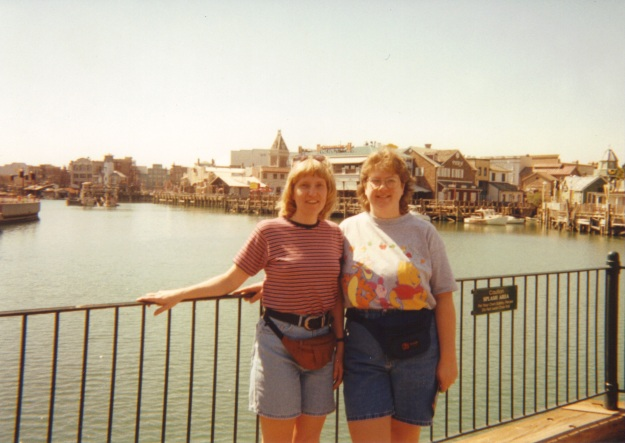 Fanny packs and mom jeans.  Wow.