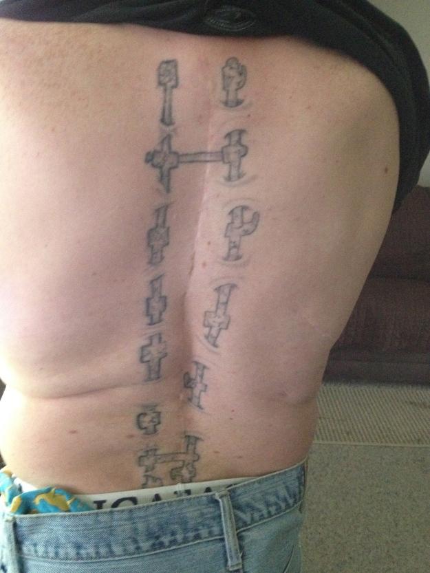 Joe's Tattoo 2