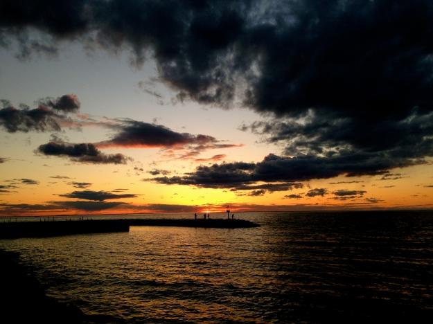 Sunset at Bayshore Park