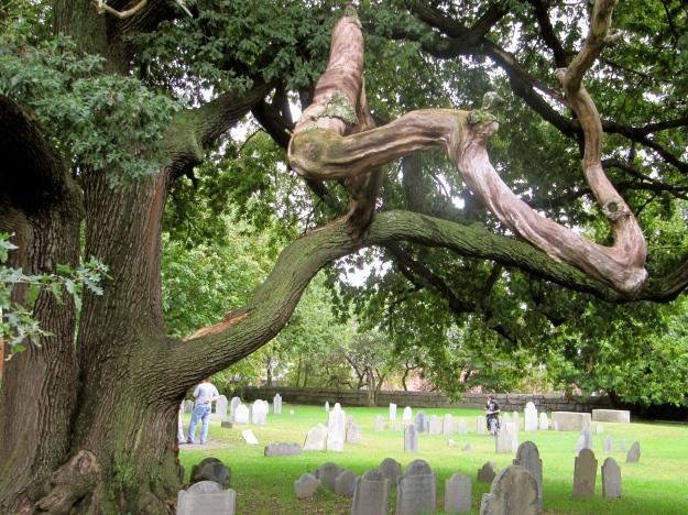 Salem cemetery, Salem, MA