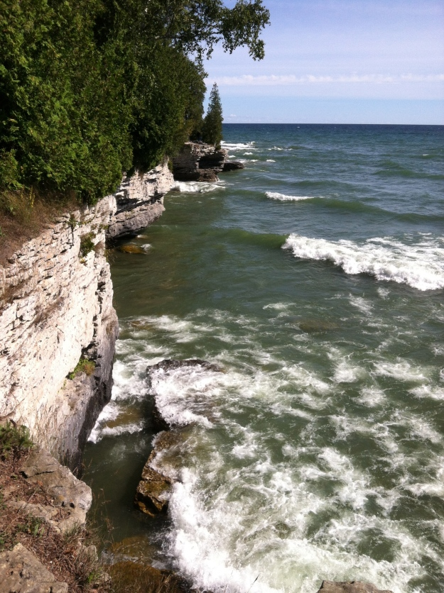 Cave Point, Door County WI - Sept 2013