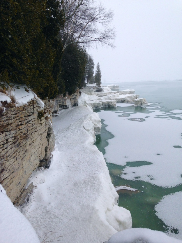 Cave Point, Door County WI - Feb 1st 2014