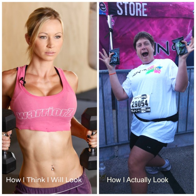 The gal on the left is Zuzka - she has FANTASTIC workouts - seriously - check her out at zuzkalight.com