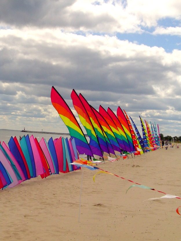 Flags Over Lake Michigan, Neshota Park