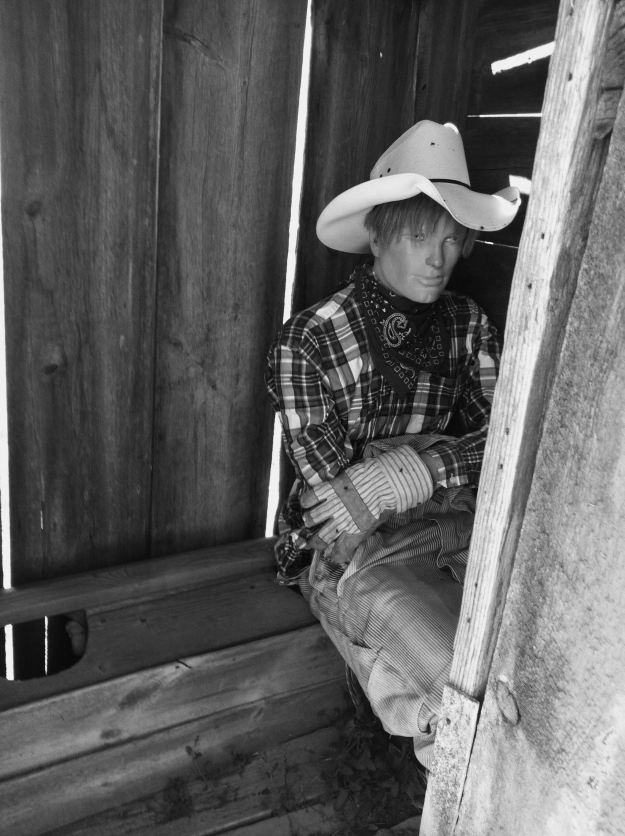 Hey pardner, do ya mind?